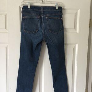 Pilcro denim skinny jean